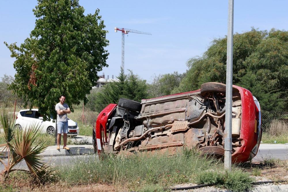 Lefkoşa'da dehşet kaza.. galerisi resim 4