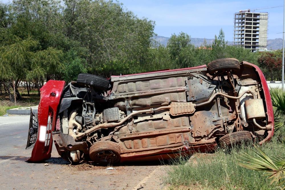 Lefkoşa'da dehşet kaza.. galerisi resim 5