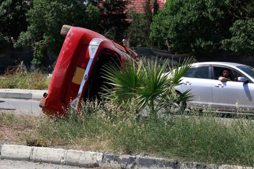 Lefkoşa'da dehşet kaza.. galerisi resim 6