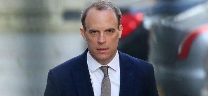 İngiltere Dışişleri Bakanı Domonıc Raab'a Kıbrıs Sorunuyla Alakalı İki Ayrı Mektup