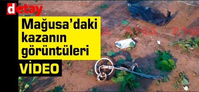 Mağusa'daki  kazanın video görüntüleri ortaya çıktı