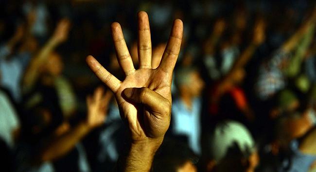 Mısırlı sporculara Rabia işareti yasak!
