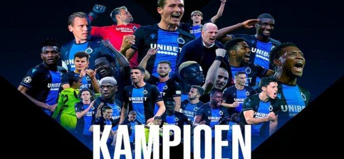 Belçika'da futbol ligleri tescil edildi: Club Brugge şampiyon ilan edildi