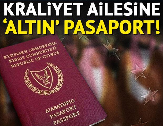 Kraliyet ailesine 'altın pasaport' ile çılgın gelir!