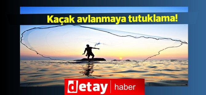 Kanunsuz balık avlama,5 kişiye tutuklama