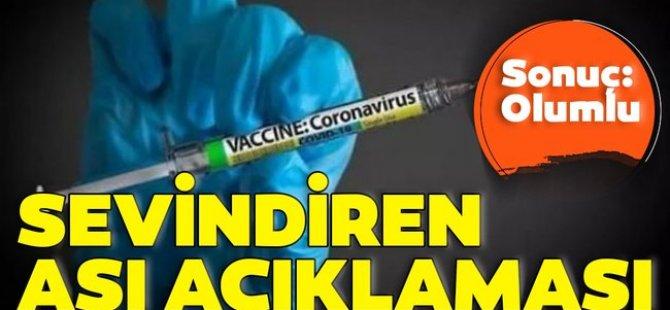 Çin'in geliştirdiği koronavirüs aşısı 'yıl sonundan önce piyasaya sürülebilir'