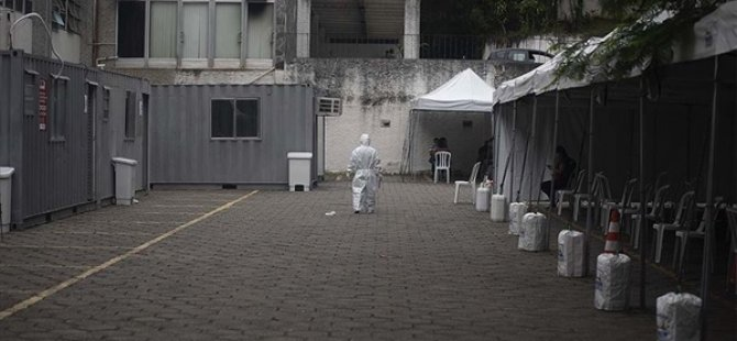 Brezilya'da Kovid-19 Nedeniyle Ölenlerin Sayısı 888 Artarak 18 Bin 859'a Yükseldi