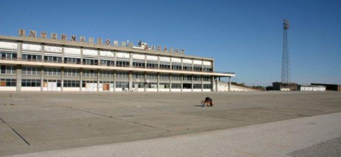 Eski Lefkoşa Uluslararası Havalimanı Yakınlarında Dün Çıkan Yangında 1 Kilometrekarelik Alan Yandı