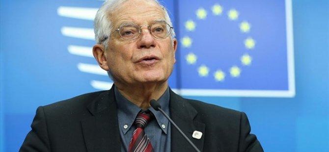 """AB Yüksek Temsilcisi Borrell'den ABD'ye """"Anlaşmaya Dön"""" Çağrısı"""