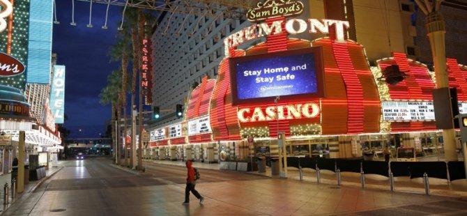 Las Vegas, kumarhaneleri yeniden açmak için hazırlık yapıyor