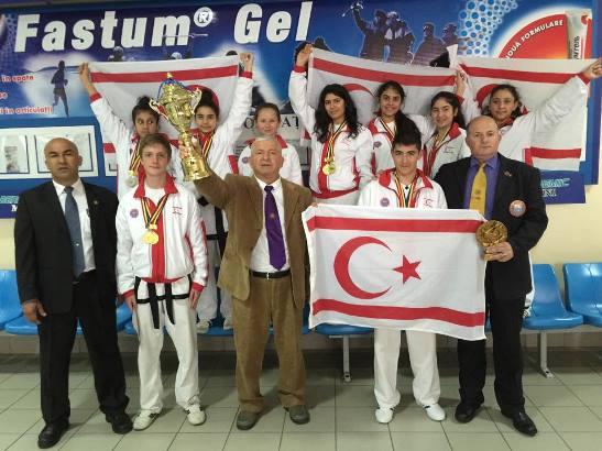 Taekwondo Genç takımımız Moldova'da
