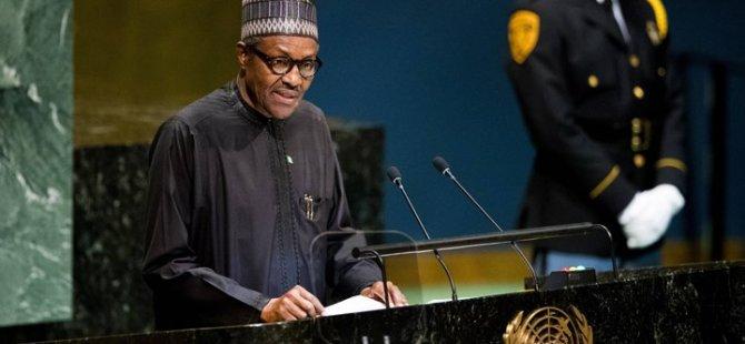 """Nijerya Devlet Başkanı Buhari: """"Yiyecek ithal edecek paramız yok"""""""