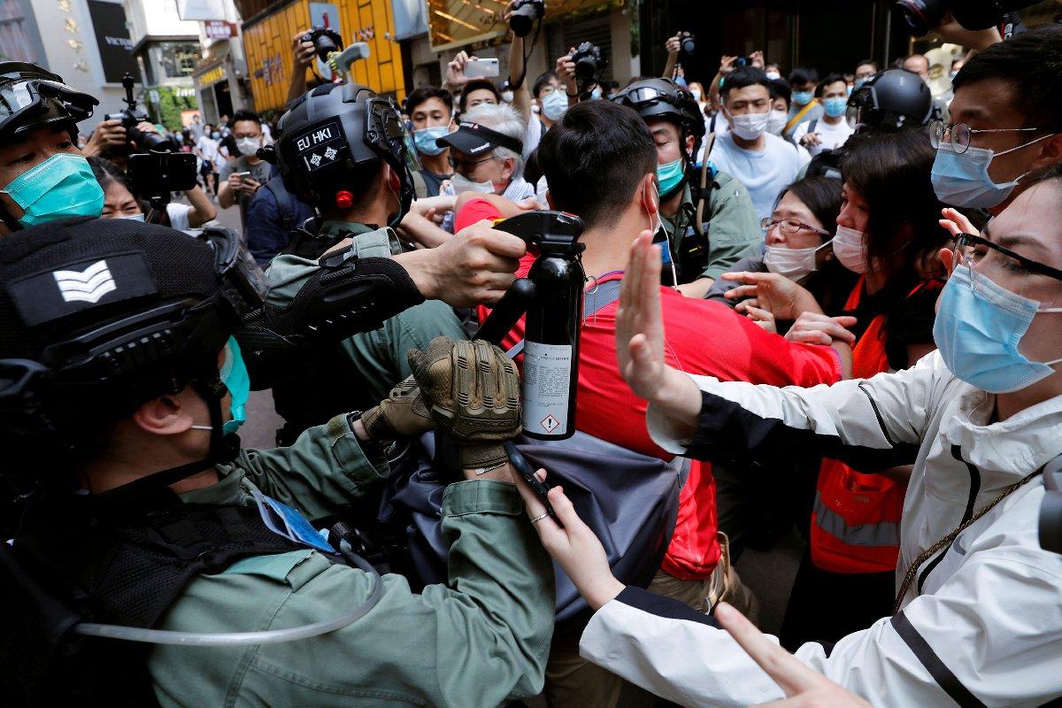 ABD'den kriz çıkaracak Hong Kong hamlesi: Özerklik bitti artık mümkün değil