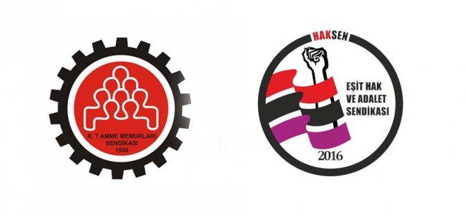 KTAMS ve HAK-SEN İngilizce Eğitim Merkezi'nin kapatılma kararını protesto ediyor