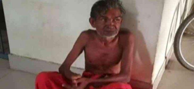 Hindistan'da dehşet: Salgını sona erdirmek için bir kişiyi kurban etti!