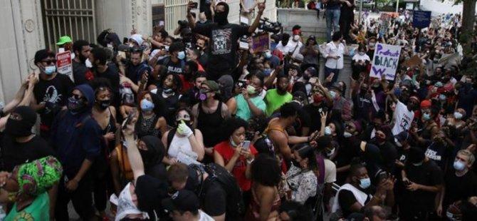 Floyd'un öldürülmesine yönelik protestolar 4. gününde