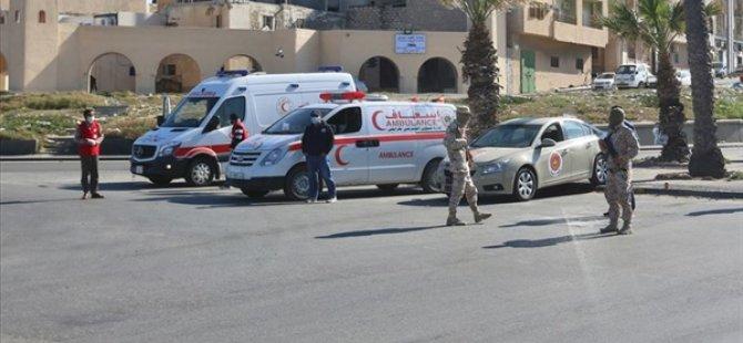 Libya'da İki Kent Koronavirüs Nedeniyle Giriş Çıkışlara Kapatıldı