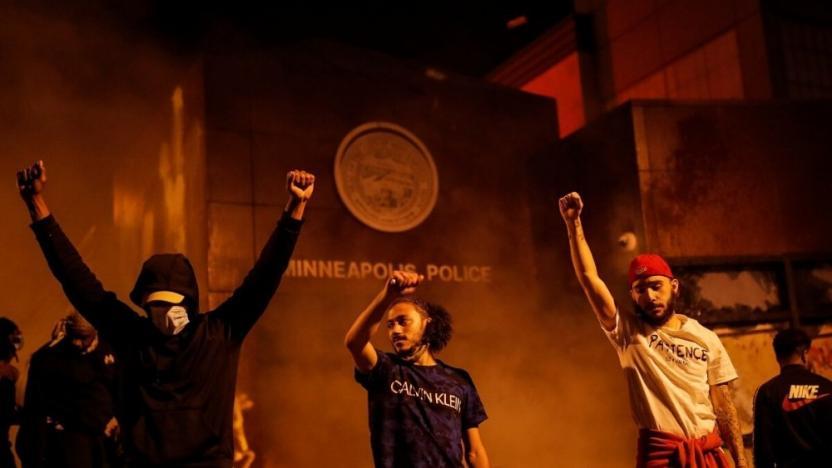 ABD yanıyor: Polis cinayetine yönelik öfke 3. gününde