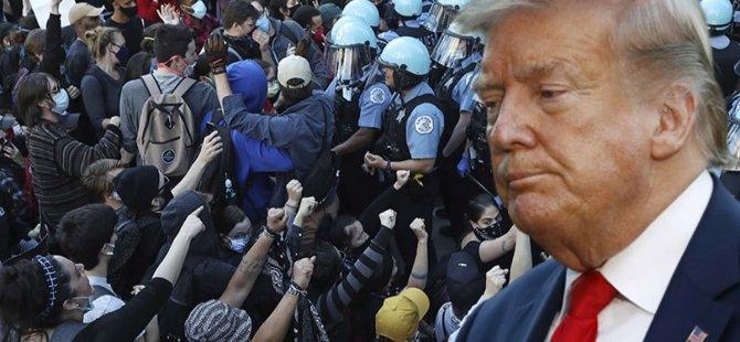 ABD'de Floyd protestoları devam ediyor