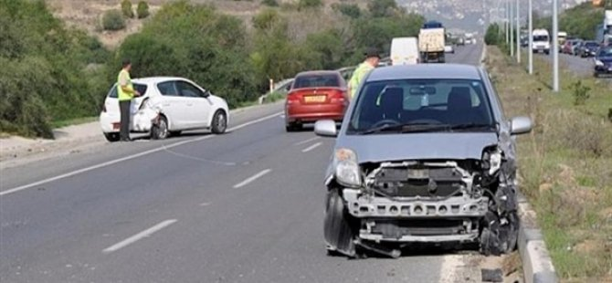 KKTCde Geçen Hafta 39 Trafik Kazası Meydana Geldi