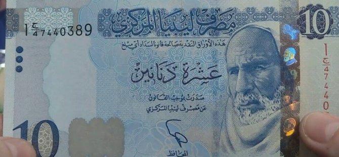 """""""Sahte Libya dinarı"""" açıklaması: Libya ekonomisi için gerekli"""