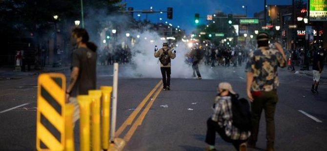 ABD'de George Floyd'un öldürülmesini protesto gösterileri dinmiyor