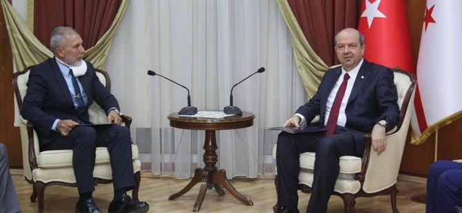 Kıbrıs Üniversiteler Birliği'nden Başbakan Ersin Tatar'a ziyaret