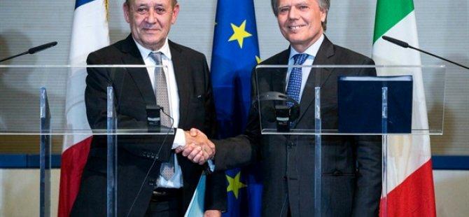 İtalya ve Fransa Dışişleri Bakanları, Avrupa'da Turizm Ve Libya'yı Görüştü
