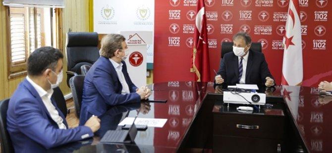 """Sağlik Bakanliği Ve Kuzey Kibris Turkcell Iş Birliği Ile """"Covid-19 Ziyaretçi Kayit Sistemi"""" Devreye Aliniyor"""