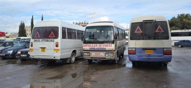 Toplu Ulaşım başlamıyor....Pazartesi Lefkoşa'da Araçlı Eylem Var
