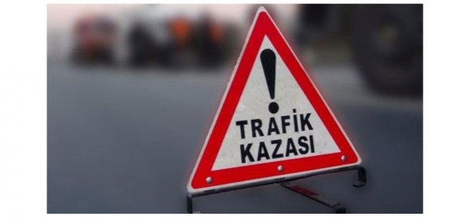 Girne Dağyolu'nda korkutan kaza