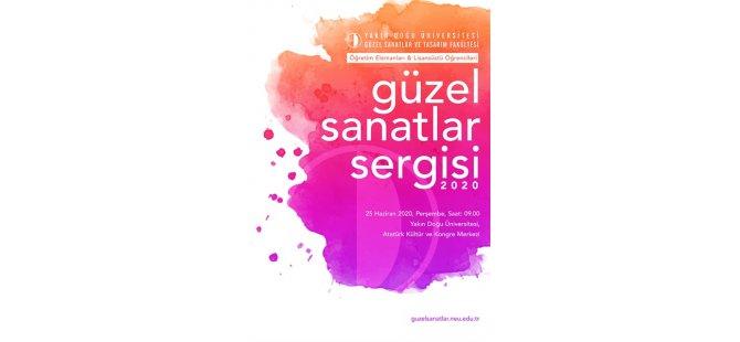 """YDÜ öğretim elemanları ve lisansüstü öğrencilerinin """"güzel sanatlar sergisi"""" 25 haziran'da açılıyor"""