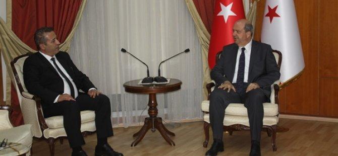 Başbakan Tatar, Yeni Başsavcı Altıncık'ı Kabul Etti