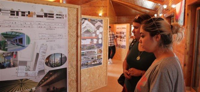 DAÜ Mimarlık Bölümü ile Yeniboğaziçi Belediyesi'nden gençlik sergisi