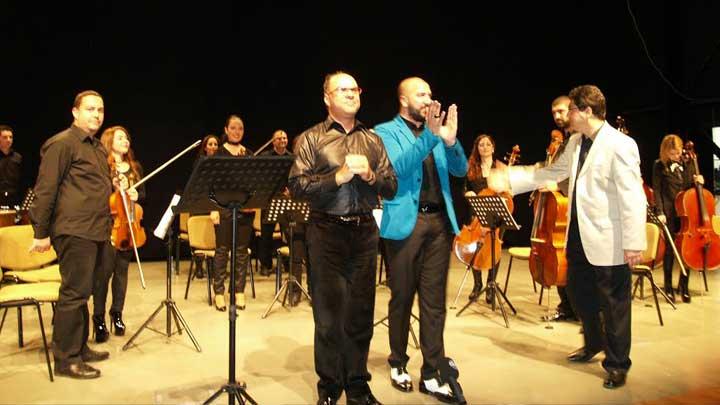 Lefkoşa Belediye Orkestrası'ndan Muhteşem Gece