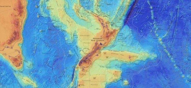 Kayıp kıta Zelandiya'nın ayrıntılı haritası çıkartıldı