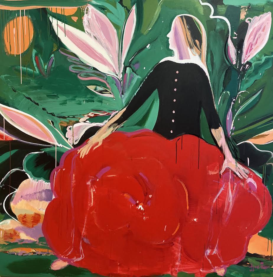 """Shalamberidze,""""Aysel"""", """"Kırmızı Çatılar ile bir şehir"""" ve """"Pozitif enerji"""" adlı üç eserini sanatseverlerin beğenisine sundu"""