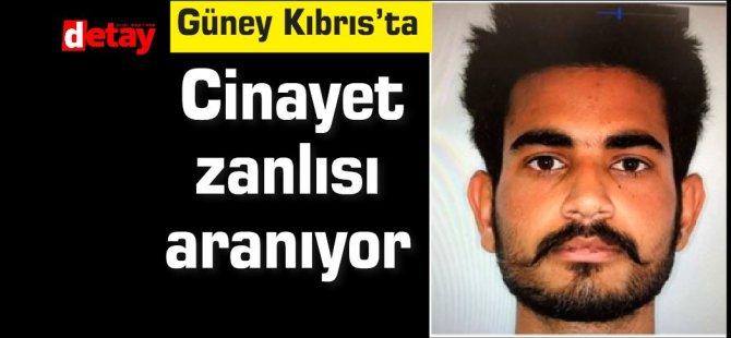 Güney Kıbrıs'ta cinayet zanlısı aranıyor…
