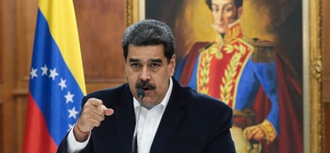 Maduro, AB Temsilcisine Venezuela'dan Ayrılması İçin 72 Saat Verdi