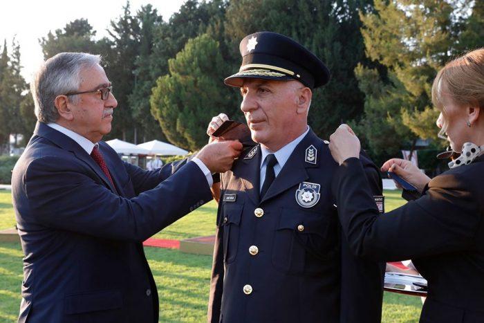 Akıncı PGM Rütbe Takma ve Görev Devir Teslim Töreni'ne katıldı, polis camiasının Polis Günü'nü kutladı