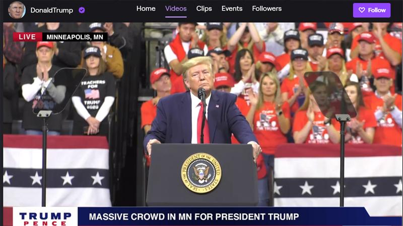 Donald Trump'a Twitch darbesi; nefret söylemi nedeniyle hesabı askıya alındı