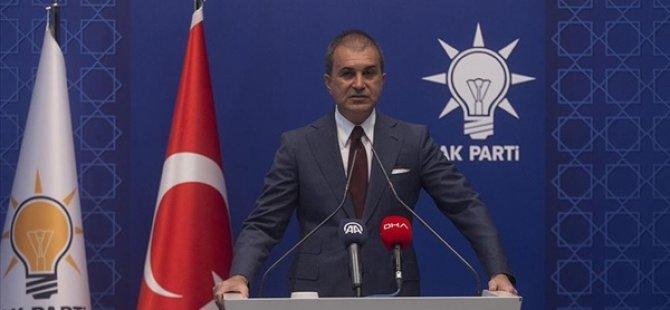 """Ak parti sözcüsü çelik: """"Güney Kıbrıs'ın muhatabı KKTC'dir"""""""