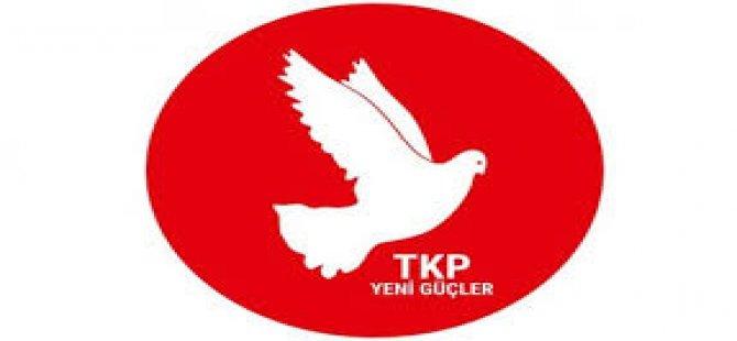 """TKP-YG Anayasa Değişikliği Referandumunda """"Hayır"""" Deme Kararı Aldığını Açıkladı"""