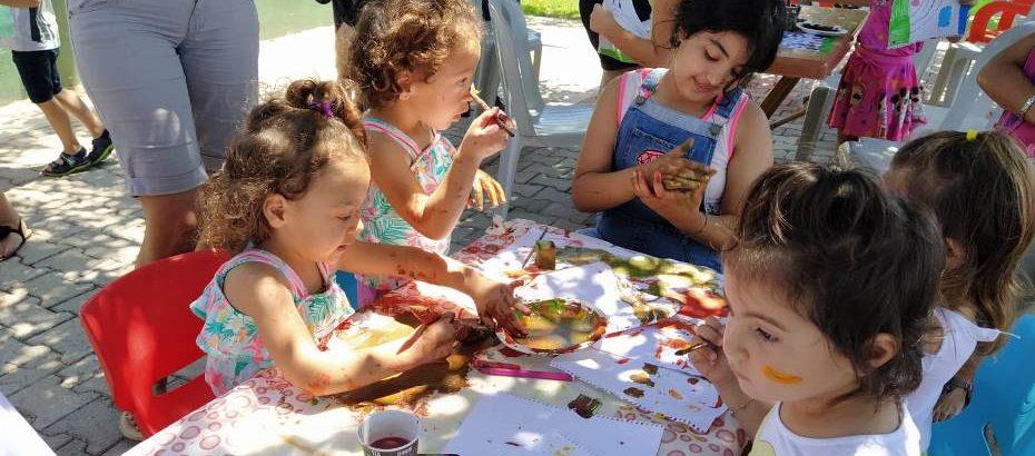 Yeniboğaziçi 'Çocuk Sanat Atölyesi' etkinlikleri başladı