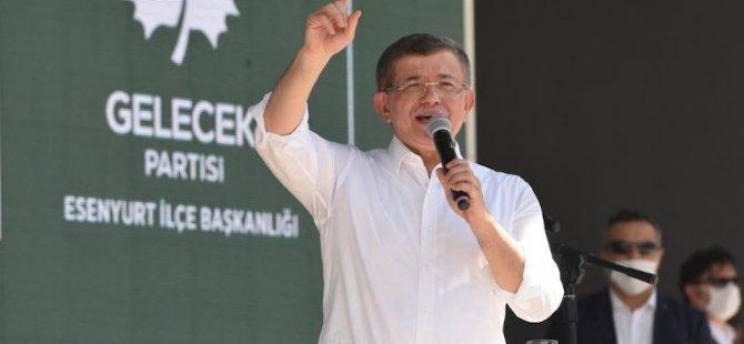 Davutoğlu: 'Cumhurbaşkanı iyi ama çevresi kötü' bir aldatmacadır, kötü yönetimin sorumlusu bizatihi Erdoğan'dır