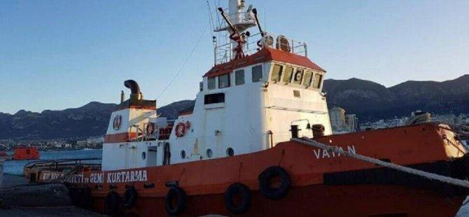 Kıyı Emniyeti'ne ait Vatan Gemisi eksik personelle seferde