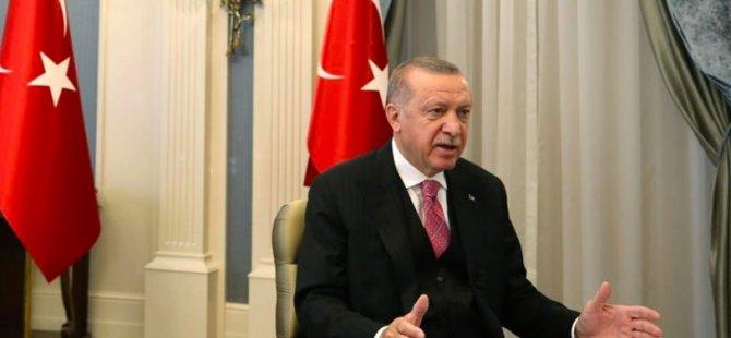 Erdoğan, Bakan Dönmez'e çıkıştı: Müsaade edin de konuşmamızı yapalım