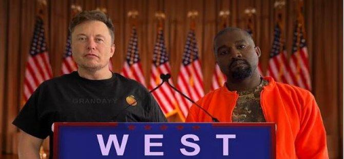 İlk Destek Elon Musk'tan Geldi: Kanye West, ABD Başkanlığı İçin Adaylığını Açıkladı