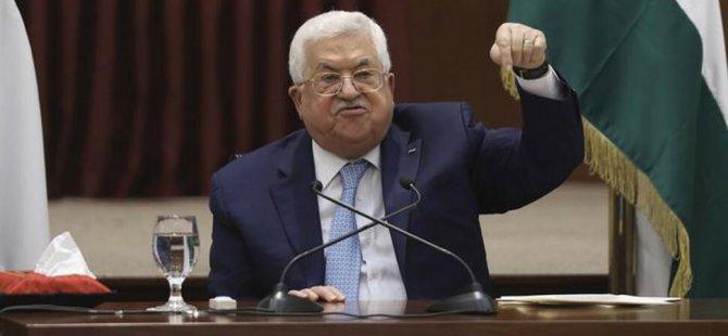 """Filistin Devlet Başkanı Abbas: """"Uluslararası dörtlü komisyon gözetiminde İsrail ile müzakerelere hazırız"""""""