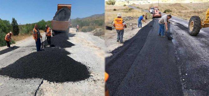 Haspolat-Taşkent yol bakım/onarım projesi hazır